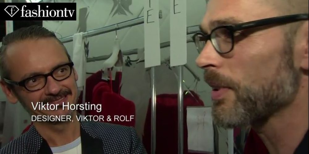 Viktor & Rolf Haute Couture Fall/Winter 2014-15 EXCLUSIVE | Paris Couture Fashion Week
